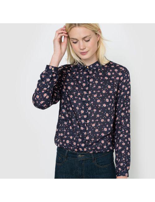 R studio | Женская Рубашка С Цветочным Рисунком