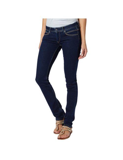Pepe Jeans | Женские Синие Джинсы Узкие Ariel