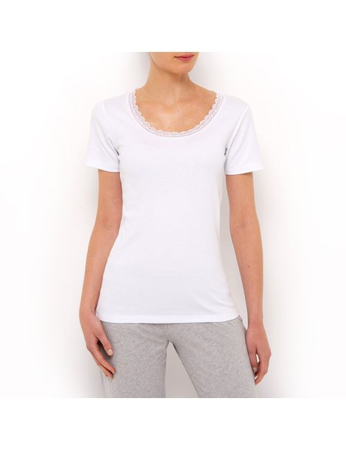 R édition | Женское Чёрный 2 Рубашки С Короткими Рукавами