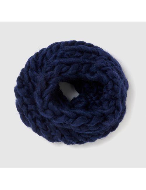 atelier R | Женская Синяя Повязка Из Плотного Трикотажа