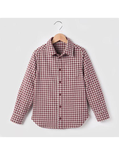 R essentiel | Красная Рубашка В Клетку С Фланелевым Эффектом 3-12