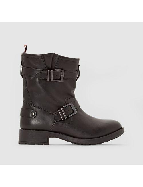 Pepe Jeans | Женские Чёрные Ботинки