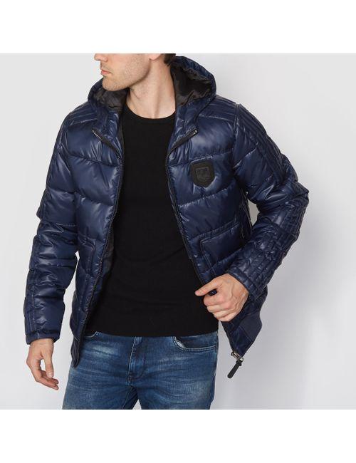 PETROL INDUSTRIES | Мужская Синяя Куртка С Капюшоном