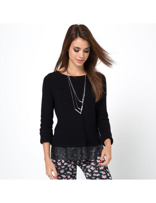 Мини-цена | Женский Чёрный Пуловер