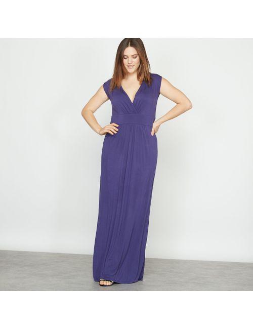 CASTALUNA | Женское Фиолетовое Платье Длинное Из Джерси