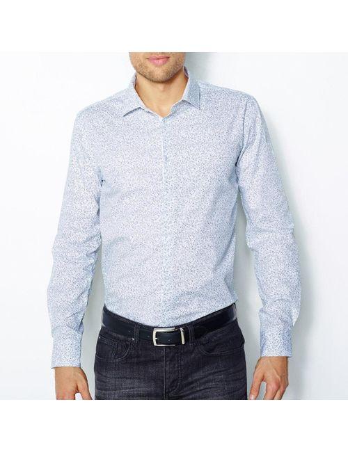 R essentiel | Мужская Многоцветная Рубашка 100 Хлопка