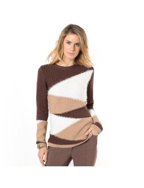 ANNE WEYBURN | Женский Многоцветный Пуловер