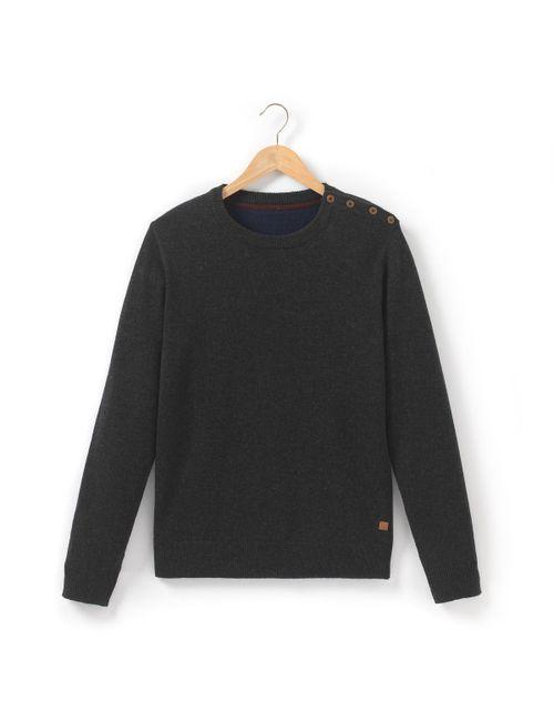 R essentiel | Мужской Синий Пуловер Из Шерсти