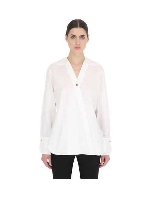 Christophe Lemaire | Женская Рубашка Из Хлопкового Поплин