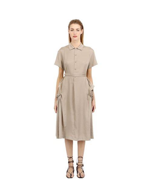 Bottega Veneta | Женское Платье Из Техно Саржи