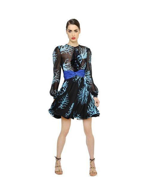 Francesco Scognamiglio | Женское Платье Из Шелкового Шифона