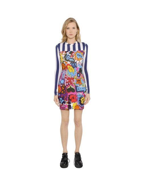 House Of Holland   Женское Платье Из Хлопкового Джерси