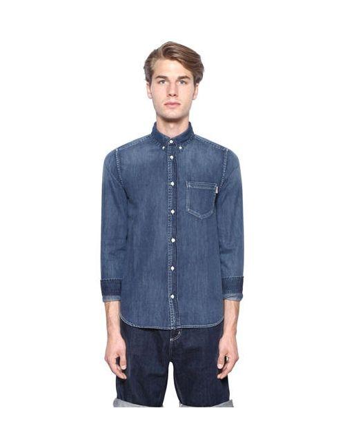 Carhartt | Мужская Рубашка Из Хлопкового Деним