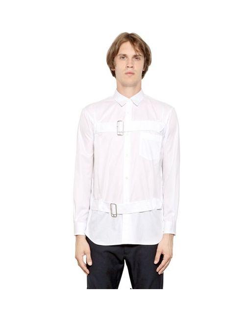 Comme Des Garcons | Мужское Shirt Рубашка Из Хлопка Пике С Ремешками