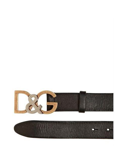 Dolce & Gabbana | Мужской Кожаный Ремень 30 Mm