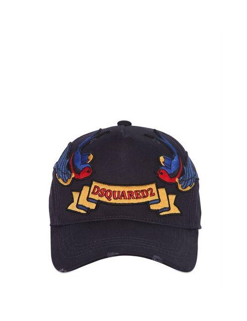 Dsquared2 | Мужская Бейсбольная Кепка Из Канвас