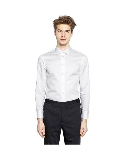 Emporio Armani | Мужская Рубашка Из Хлопкового Атласа