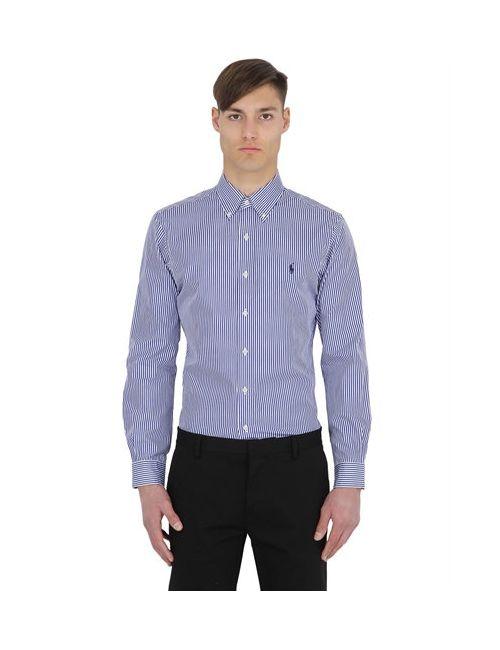 Polo Ralph Lauren | Мужская Рубашка Из Хлопкового Поплин В Полоску