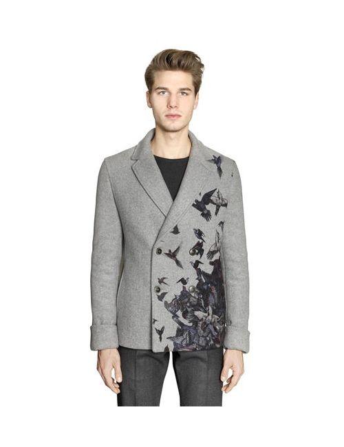 Salvatore Ferragamo | Мужское Пальто Из Двойной Шерсти