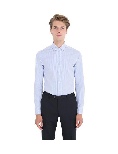 SALVATORE PICCOLO | Мужская Рубашка Из Хлопка В Полоску