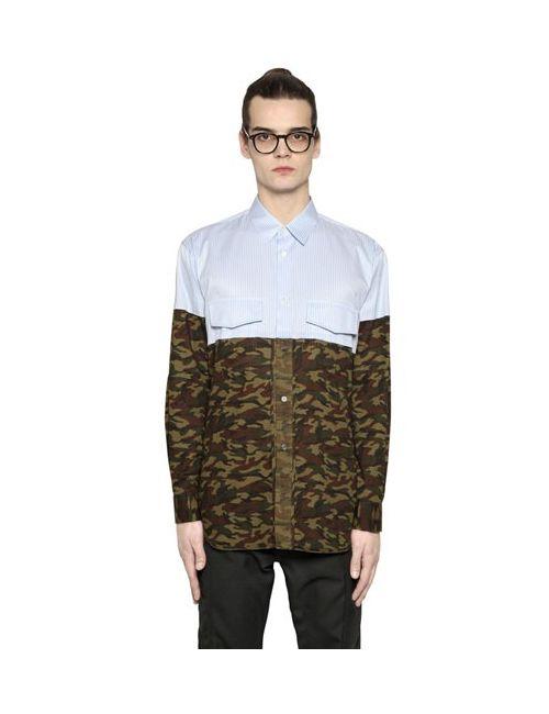 Comme Des Garcons | Мужское Shirt Рубашка Из Хлопкового Поплин
