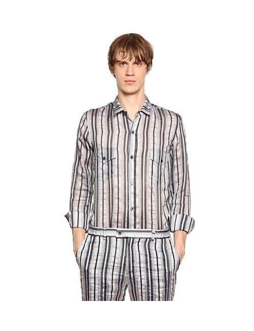 PERDRE HALEINE | Мужская Рубашка Из Смешанного Хлопка