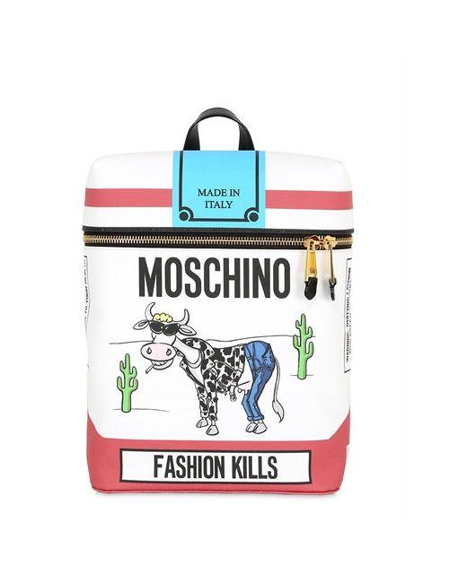 Moschino | Женский Рюкзак Its Lit Из Искусственной Кожи