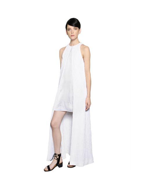 ROSETTA GETTY | Женское Платье Из Атласа И Клоке
