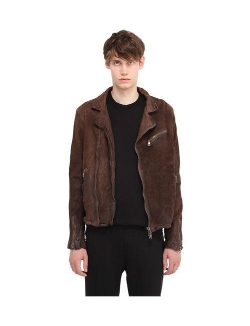 Giorgio Brato | Мужская Двухсторонняя Кожаная Куртка С Винтажным Эффектом
