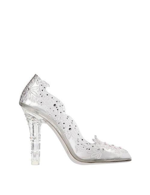 Dolce & Gabbana | Женские Туфли Cinderella С Кристаллами Сваровски 105mm