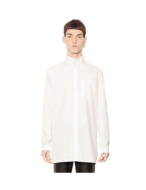Y / PROJECT | Мужское Y Project Рубашка Из Хлопка Поплин