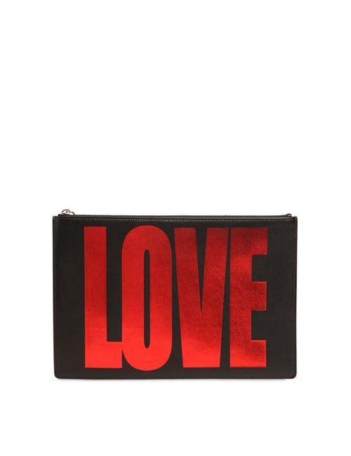 Givenchy | Женский Клатч Love Из Ламинированной Кожи