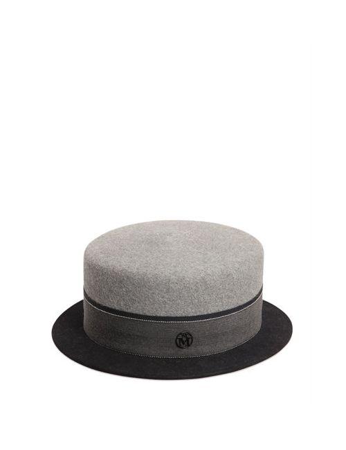 Maison Michel | Женская Шляпа Из Кроличьего И Заячьего Фетра