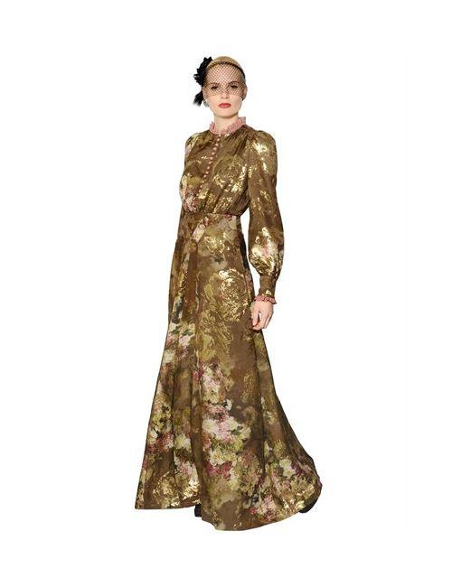 Antonio Marras | Женское Платье Из Шёлкового Жоржета С Техникой Fil