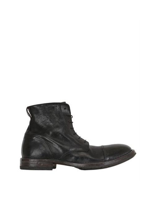 Moma | Мужские Кожаные Ботинки На Шнуровке