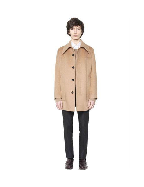 Valentino | Мужское Полушерстяное Пальто