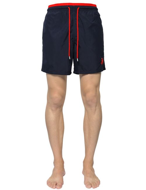 Vilebrequin | Мужское Синий Two Tone Embroide Swim Shorts