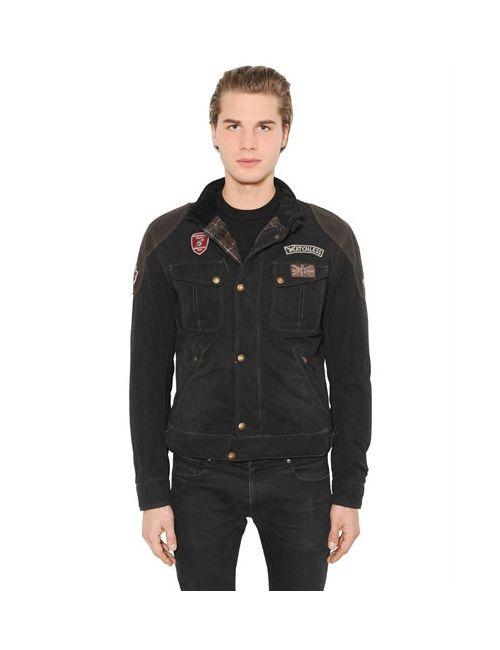 MATCHLESS LONDON | Мужская Куртка Rebel Из Кожи И Вощёного Хлопка