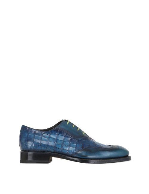 Harris | Мужские Кожаные Туфли С Крокодиловым Тиснением