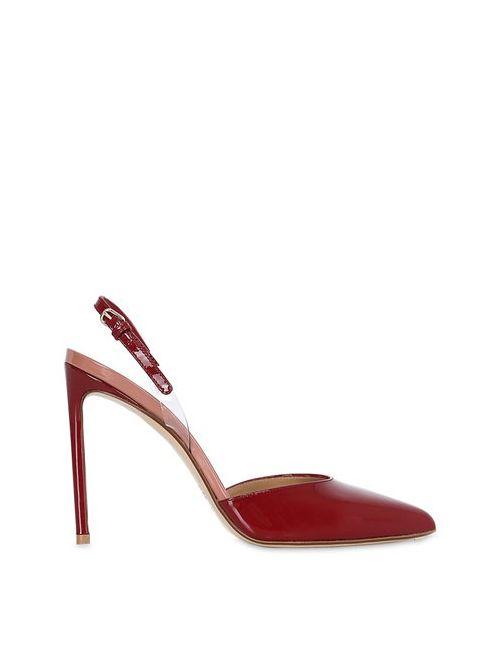 FRANCESCO RUSSO | Женские Туфли Из Лакированной Кожи 105mm
