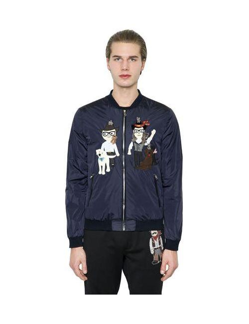 Dolce & Gabbana   Мужская Куртка-Бомбер Designers Из Нейлона