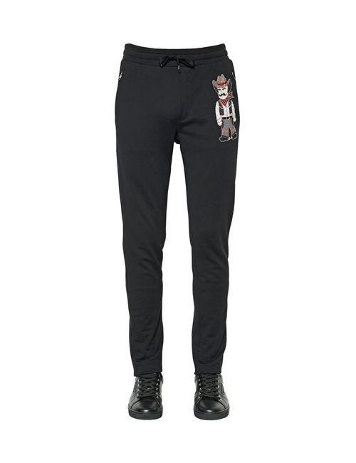 Dolce & Gabbana   Мужские Спортивные Брюки Из Хлопка