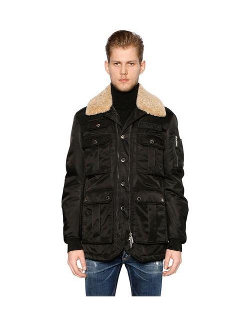 Dsquared2 | Мужская Куртка Из Нейлона Модель Aviator