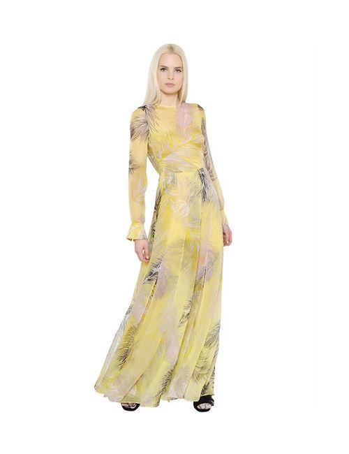 Emilio Pucci | Женское Платье Из Шёлкового Шифона С Принтом