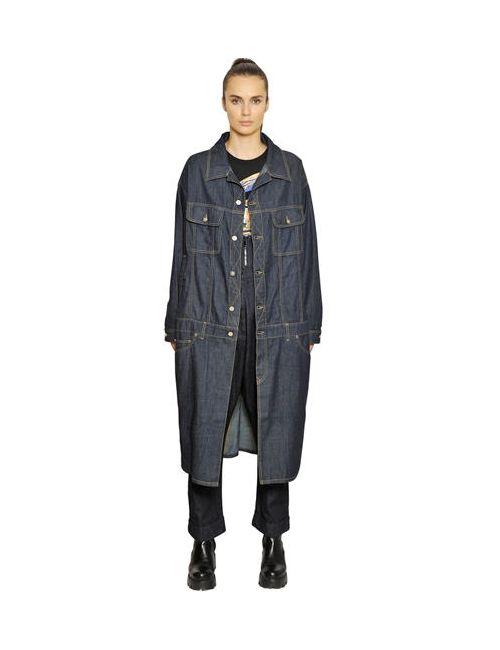 Vivienne Westwood Anglomania | Женское Пальто Из Хлопкового Деним