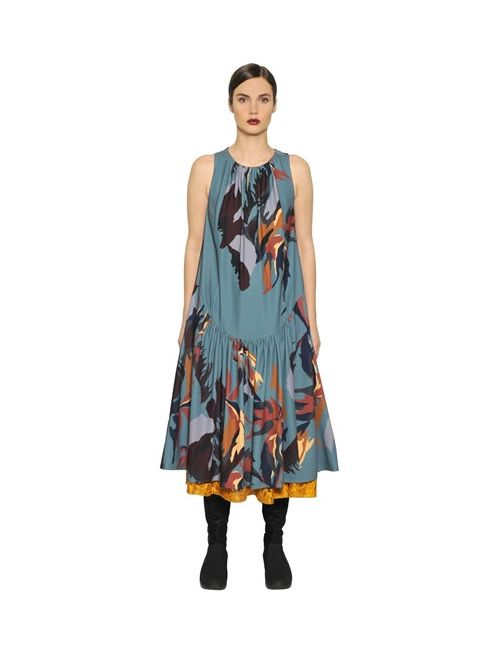 I'm Isola Marras | Женское Платье Из Технокрепдешина И Бархата
