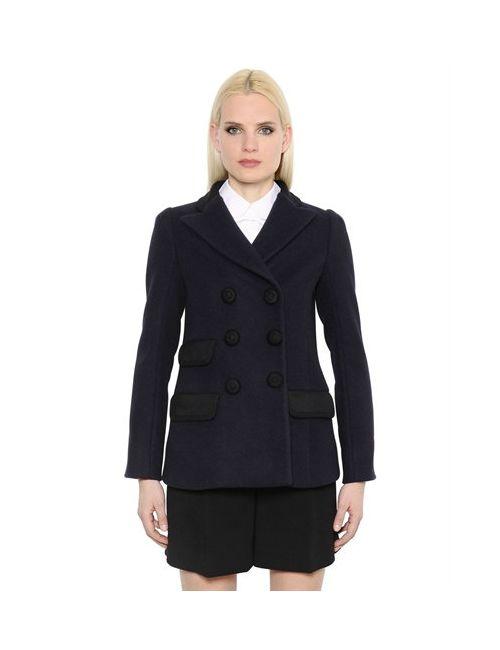 Marc Jacobs | Женское Двубортное Шерстяное Пальто