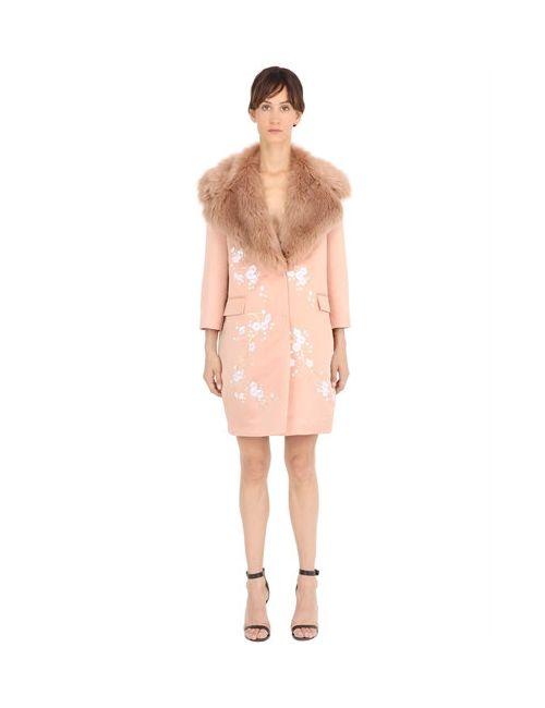 Ainea | Женское Женщины Пальто Из Атласа С Вышивкой И Искусств.