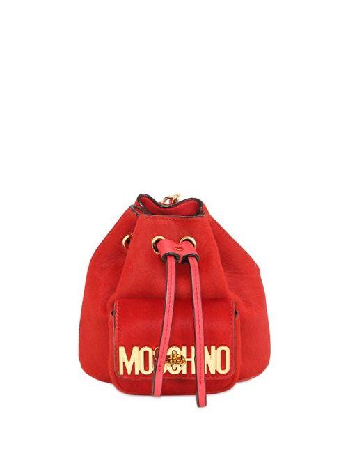 Moschino | Женский Женщины Рюкзак Из Кожаного Материала С Ворсом