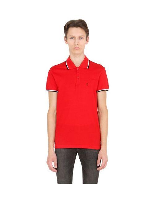 Saint Laurent | Мужская Мужчины Рубашка Поло Из Хлопка Пике